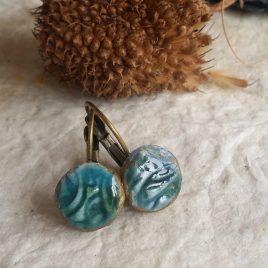 Pendientes de cerámica pequeños