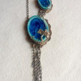 Collar Azul Libélula