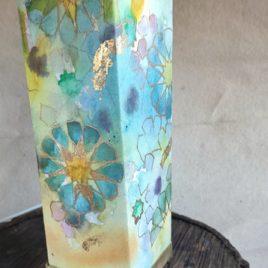 lámpara de mesa mudéjar